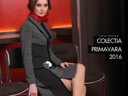 Colectia Primavara 2016<br/>Primele modele