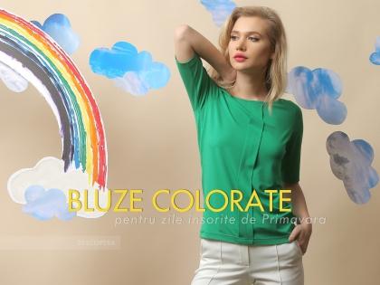 Bluze colorate