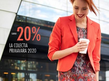 Cadou 20% la colectia primavara 2020