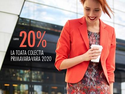 Cadou 20% la toata colectia primavara-vara 2020