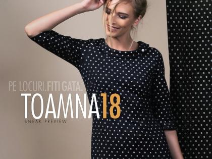 Colectia Toamna 2018 - Primele modele