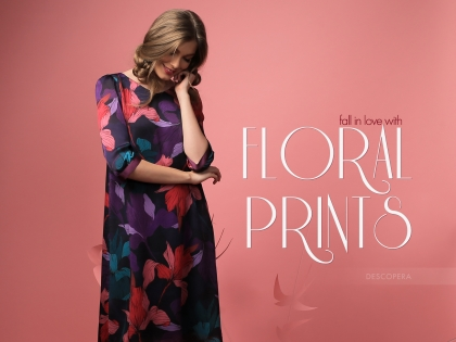 Fall in love with floral prints