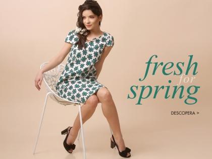 Fresh for spring