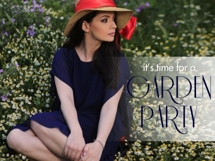 It's time for a garden party!