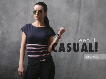 Keep it casual!