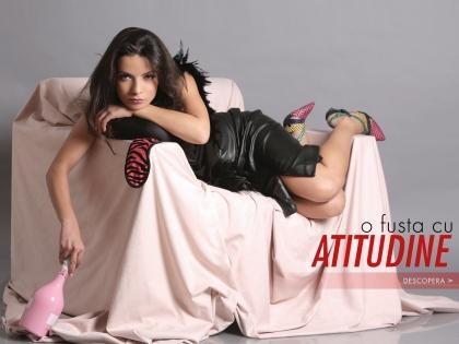 O fusta cu atitudine.