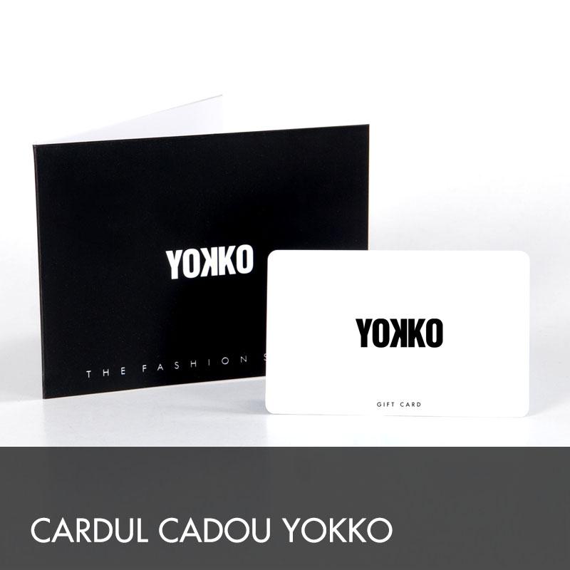 Ofera Cardul cadou YOKKO