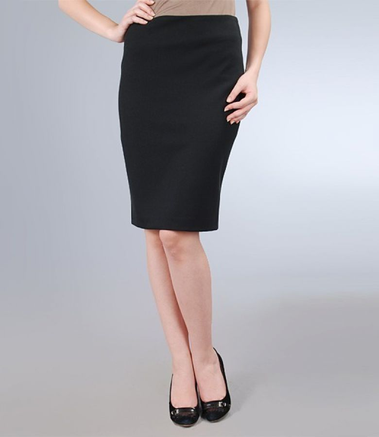 Fusta office neagra