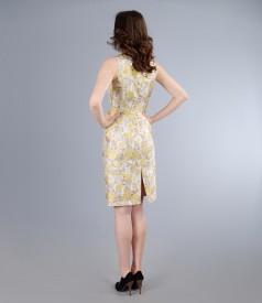 Rochie eleganta din brocart