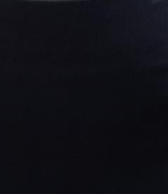 Fusta office din stofa elastica bleumarin