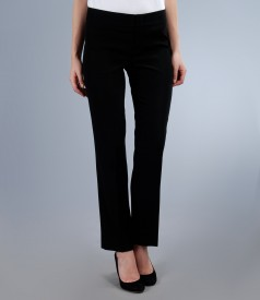 Pantaloni eleganti negri