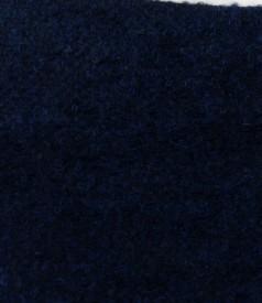 Fusta din bucle bleumarin cu lana si alpaca
