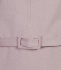 Rochie din jerse elastic cu cordon
