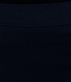 Fusta bleumarin cu garnitura