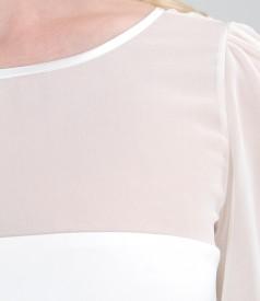 Rochie de seara eleganta din stofa elastica
