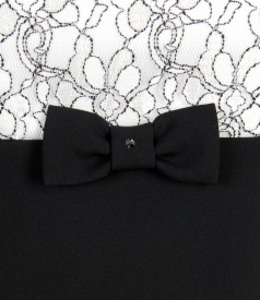 Rochie de seara eleganta cu garnitura de dantela