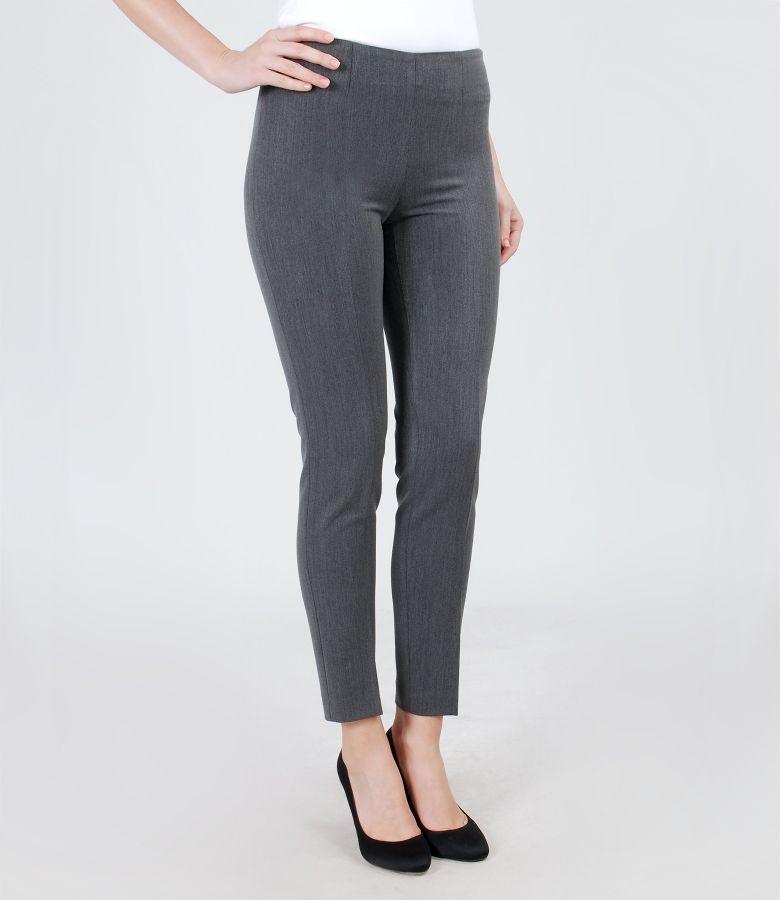 Pantaloni eleganti din stofa elastica