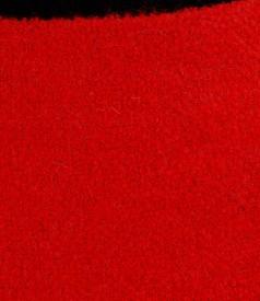 Fusta din bucle rosu cu lana si alpaca