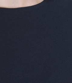 Rochie din jerse elastic gros