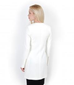 Jacheta cu buzunare si tinte metalice