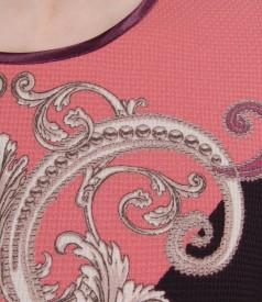Rochie eleganta cu motive geometrice