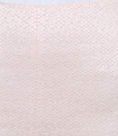 Fusta eleganta din bumbac elastic brocat