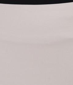 Fusta eleganta din bumbac elastic
