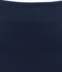 Fusta eleganta din bumbac elastic texturat