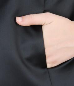 Bolero elegant din saten elastic
