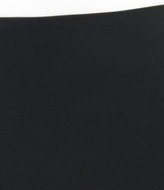 Fusta eleganta neagra