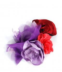 Accesoriu colier cu flori