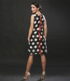 Rochie eleganta imprimata cu buline