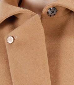 Jacheta cu rever si buzunare laterale