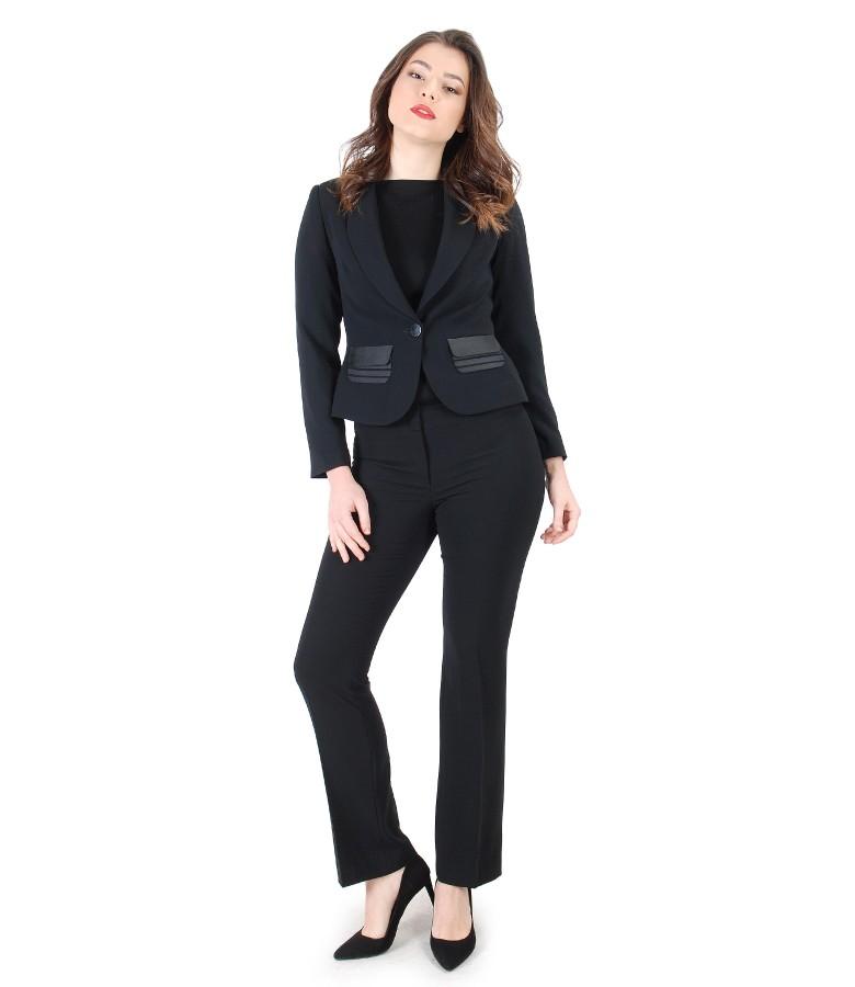 Costum office dama cu sacou si pantaloni eleganti