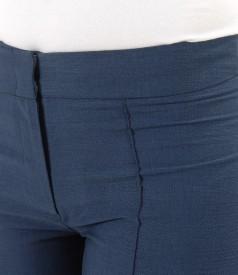 Pantaloni pana din vascoza cu bumbac