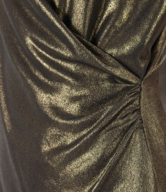 Bluza eleganta din voal cu efect sidefat