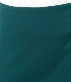 Fusta eleganta din jerse elastic gros