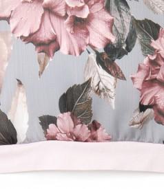 Bluza din voal cu imprimeu floral