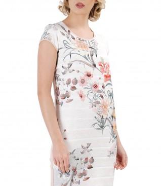 Rochie lejera cu motive florale