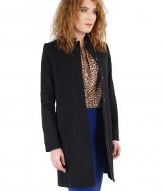 Jacheta din lana si casmir