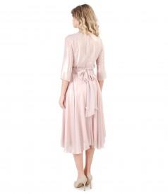 Esarfa brau pentru rochie