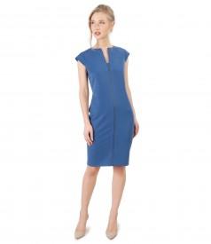 Rochie eleganta din stofa elastica