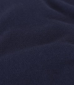 Fusta office din stofa elastica
