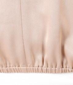 Bluza lejera din saten de viscoza