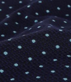 Rochie din bumbac gros brocat cu aplicatie de cristale
