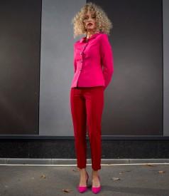 Costum dama office cu pantaloni pana si sacou