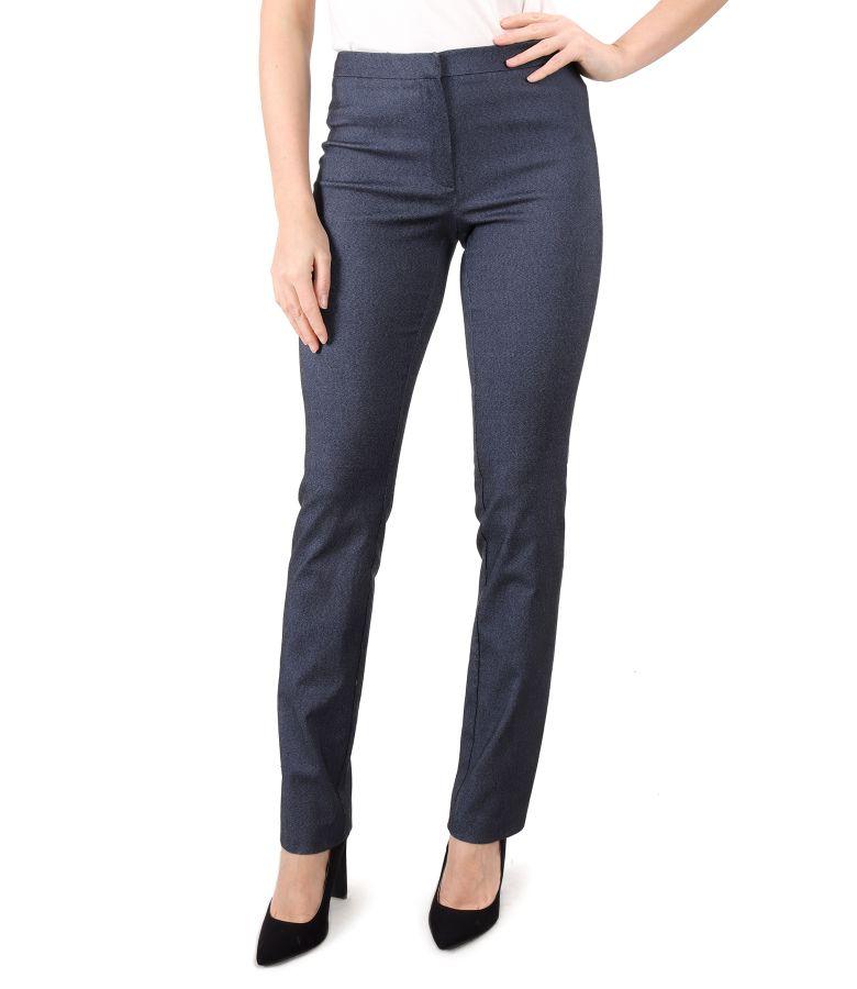 Pantaloni din denim elastic