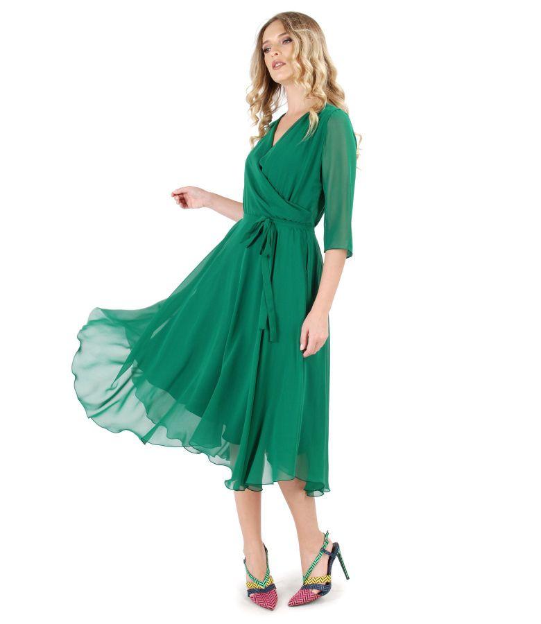Rochie eleganta din voal