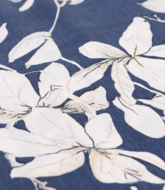 Rochie lejera din tencel imprimat cu motive florale