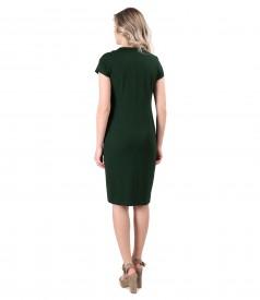 Rochie eleganta din jerse elastic